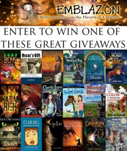 emblazone giveaway books july